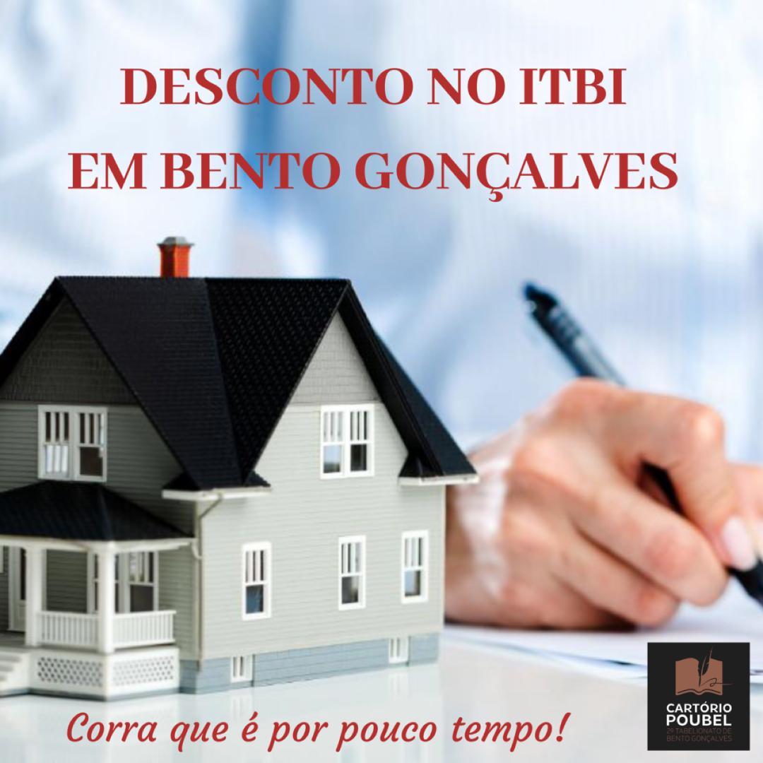 Desconto no ITBI em Bento Gonçalves